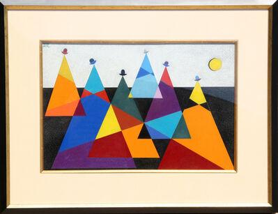 Omar Rayo, 'Untitled - Mountains', 1955