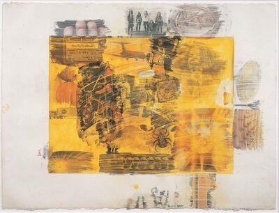 Robert Rauschenberg, 'Yellow Body', 1968
