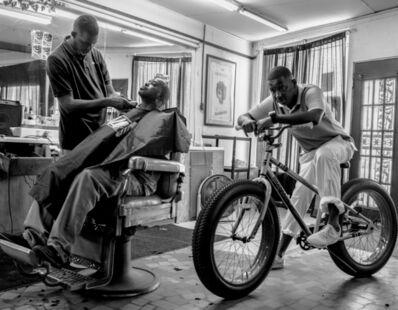 Robert LeBlanc, 'Memphis Barber Shop', 2020