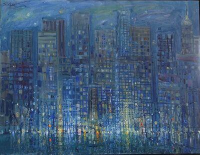 Bruno Zupan, 'Manhattan at Night', 2017