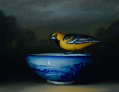 David Kroll, 'Oriole and Bowl', 2016