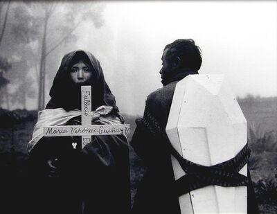 Flor Garduño, 'Fallecio Maria Veronica, Tixan, Ecuador', 1988