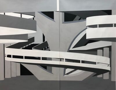 """patricia golombek, '""""Bienal Pavillion São Paulo"""" -1957', 2019"""