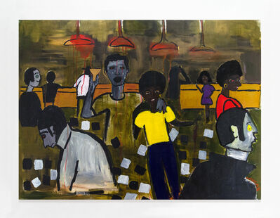 Cassi Namoda, 'Texas Bar 1971, Maputo City', 2018
