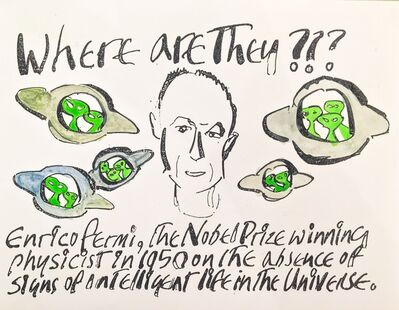 Anthony Haden Guest, 'Enrico Fermi', 2016