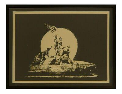 Banksy, 'CHAMPAGNE FORMICA FLAG', 2007
