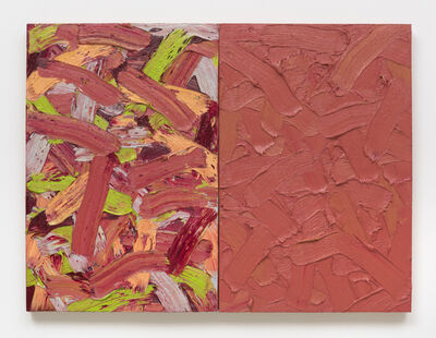 James Hayward, 'Abstract Diptych #49', 2017