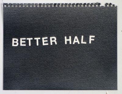 Betty Tompkins, 'Better Half', 2015