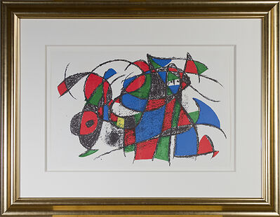 """Joan Miró, 'Original Lithograph III from """"Miro Lithographs II, Maeght Publisher""""', 1975"""