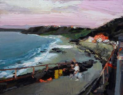 Simon Andrew, 'Summer Evening Near Sennen Car Park'