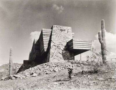 Pedro E. Guerrero, 'The Pauson House, Ship of the Desert, Exterior Side View, Scottsdale, AZ', 1941