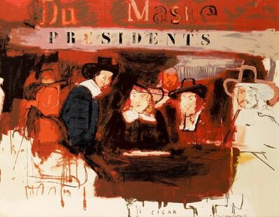 Larry Rivers, 'Dutch Masters (Presidents)', 1991