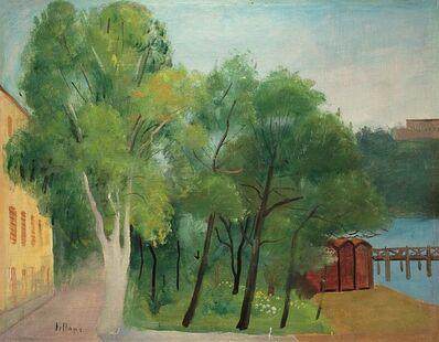 Umberto Lilloni, 'Alberi a Sestri Levante', 1935