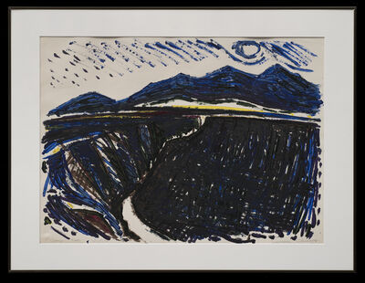 Lawrence Calcagno, 'Gorge Taos', 1975