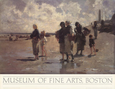 John Singer Sargent, 'Oyster Gatherers of Cancale', 1984