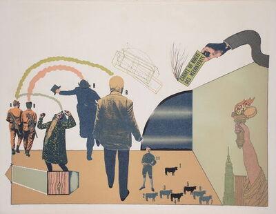 Antonio Seguí, 'Sans Démagogie', 1972