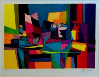 Marcel Mouly, 'Nappe Vert et Compotier', Unknown
