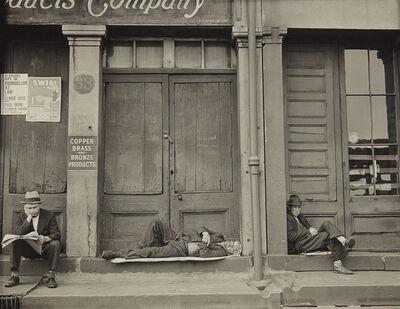 Walker Evans, 'South Street, New York', 1932