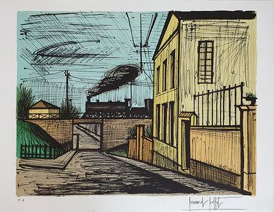 Bernard Buffet, 'Paysage a la locomotive', 1983
