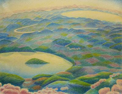 "Gerardo Dottori, '""Landscape of Fantasy""', 1967"