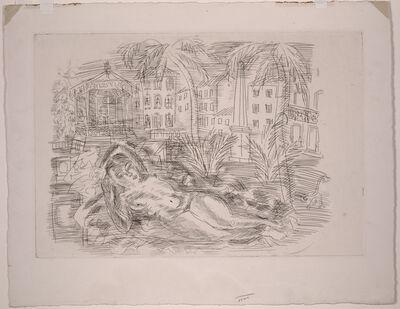 Raoul Dufy, 'Odalisque', ca. 1930