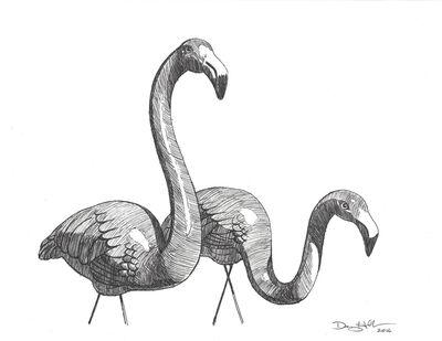 Danny Heller, 'Flamingo 2', 2017