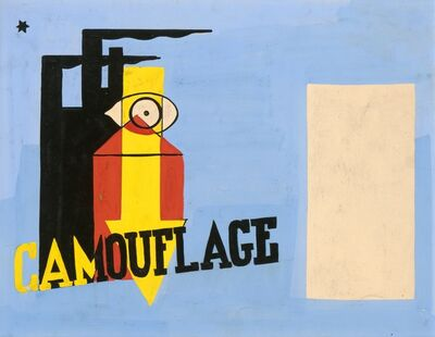Mildred Elfman Greenberg, 'Camouflage for Civilian Defense ', 1940-1941