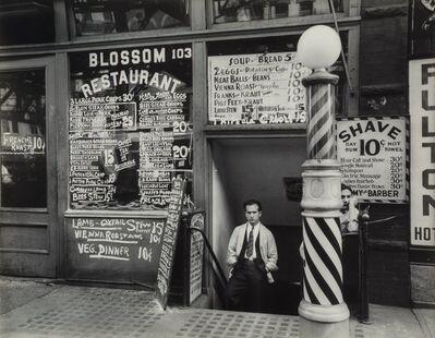 Berenice Abbott, 'Blossom Restaurant, 103 Bowery, Manhattan'