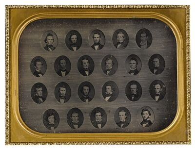 Anonymous American Photographer, 'Selected Composite Class Photographs'