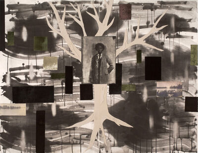Radcliffe Bailey, 'Oak in the Night ', 2003