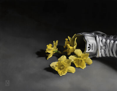 Megan Read, 'Flowers with Vessel, 4', 2019