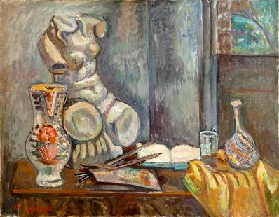 Igael Tumarkin, ' Still Life with Bust', 1926