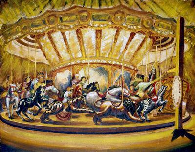 Philip Pearlstein, 'Merry-Go-Round', 1939-1940
