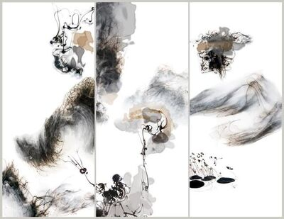 Lu Jun, 'In memory of moon, of water 水月相忘', 2015