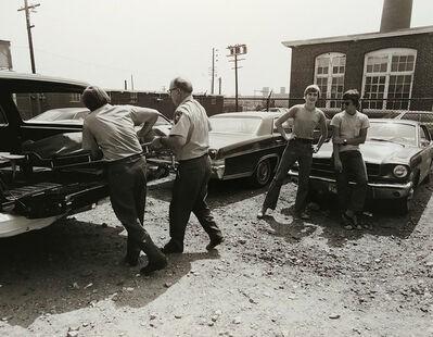 Jeffrey Silverthorne, 'Pickup, Morgue Work', 1973