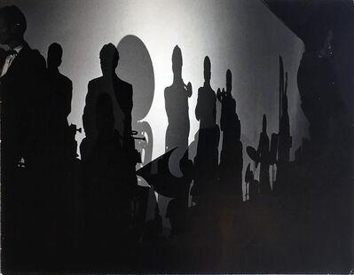 William Claxton, 'Big Band Silhouette-Stan Kenton Band', 1957