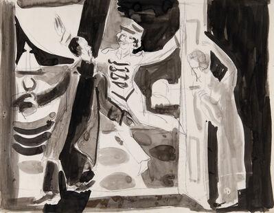 Ernst Ludwig Kirchner, 'Theaterszene', ca. 1932
