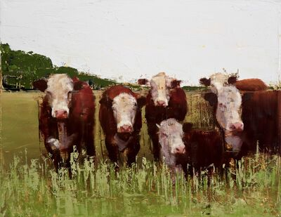 Nicolas V. Sanchez, 'Midwest Herd', 2017