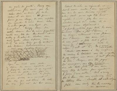 Paul Gauguin, 'Manuscript Pages [verso]', 1884-1888