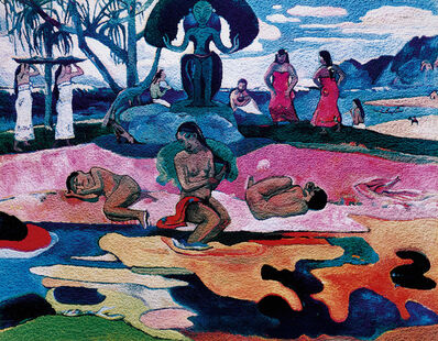 Vik Muniz, 'Day of the Gods (Mahana no Atua), after Gauguin (from Pictures of Pigment)', 2006