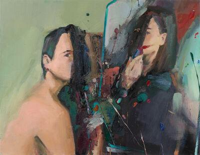 Andrius Zakarauskas, 'Double Brushstroke', 2018