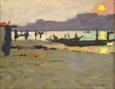 Ken Howard, ''SUNSET AT RANI NAGAR''