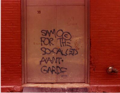 Henry Flynt, 'The SAMO© Graffiti', 1971
