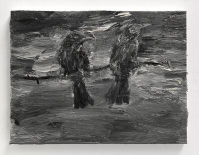 Yan Pei-Ming, 'Black Bird IX', 2013