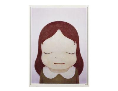 Yoshitomo Nara, 'Cosmic Girl (Eyes Shut)', 2008