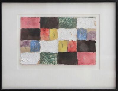 Alfred Jensen, 'Color Study', 1968