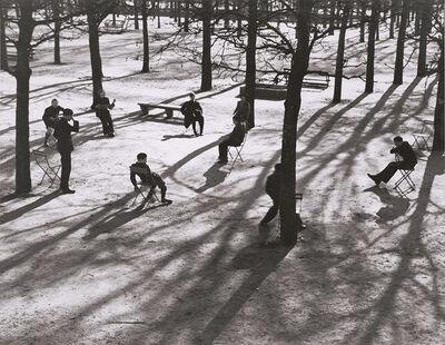 André Kertész, 'After School at the Tuileries, Paris', 1928 / 1960c