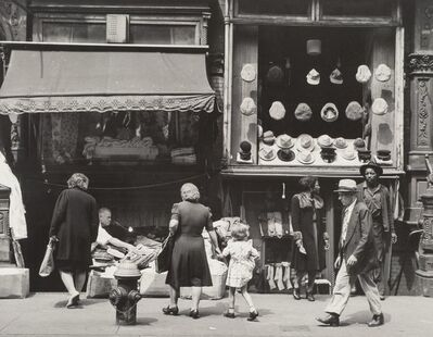 Todd Webb, 'Orchard Street, New York', 1946
