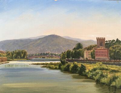 Sergio Roffo, 'Arno River, Florence', 2019