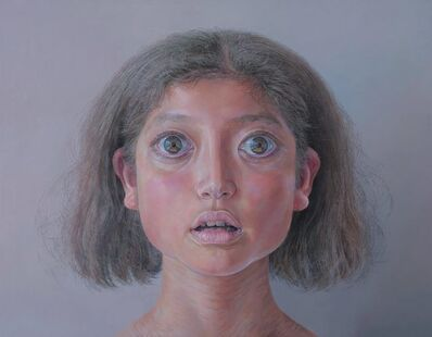 Korehiko Hino, 'Girl with Split Hair', 2020